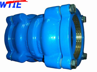 Restraint Coupling for PVC/PE Pipe