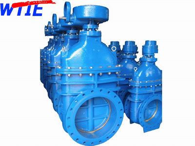 BS5163 Non-rising stem metal seated gate valve