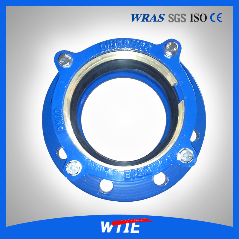 Restraint Flange adaptor for PVC/PE Pipe