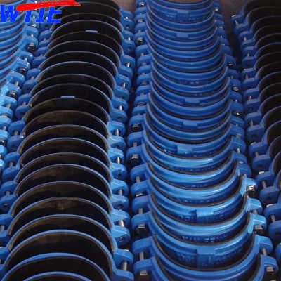 Saddle clamp for PVC/PE pipe