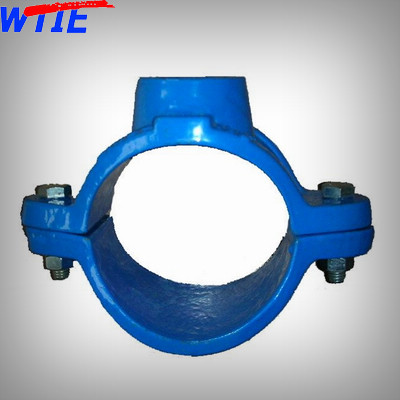 Saddle clamp for DIP